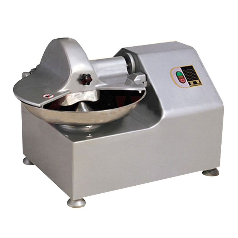 Multi-function Food Chopper TQ-8 Commercial Chopper Stainless Steel Casing Vegetable Fruit Processing Equipment Worm Drive
