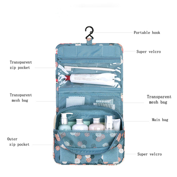Cartoon Waterproof Ladies Cosmetic Bag Suitcase Cosmetic Storage Bag Cosmetic Bag Cosmetics Sanitary Napkin Travel Accessories