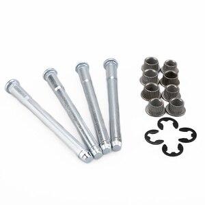 1 Set Car Modified Iron Door Hinge Bushing Repair Kit Car Repair Accessories A30