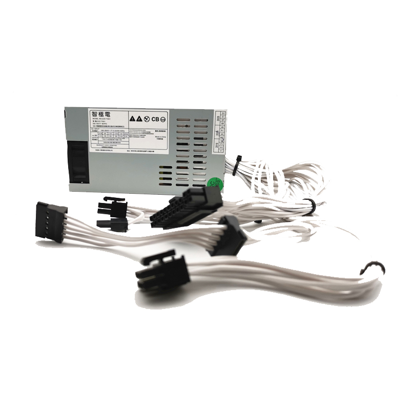 Fil de silicone souple blanc 500W 1U alimentation HTPC RTX2060 1080Ti i7 8700K pour RYZENP K39