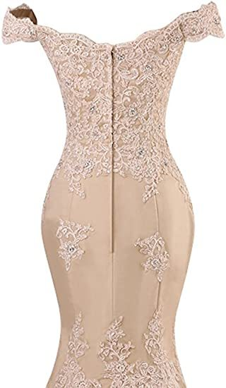 ANGELSBRIDEP Off-Shoulder Mermaid Prom Dresses Fashion Applique Crystal Court Train Vestidos de festa Abendkleider Party Gowns 4