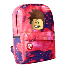 Robloxer game casual backpack for teenagers Kids Boys Children Student School Bags Unisex Laptop Bags travel Shoulder Bag недорого