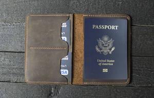Image 3 - Japão lâmina de aço morrer cortador modelo de couro passaporte carteira presente para o homem passaporte titular punch ferramenta mão corte faca molde