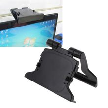 TV Clip Clamp Mount Mounting Stand Holder Suitable for Microsoft Xbox 360 Kinect Sensor Durable Use Plastic Black Plastic(China)