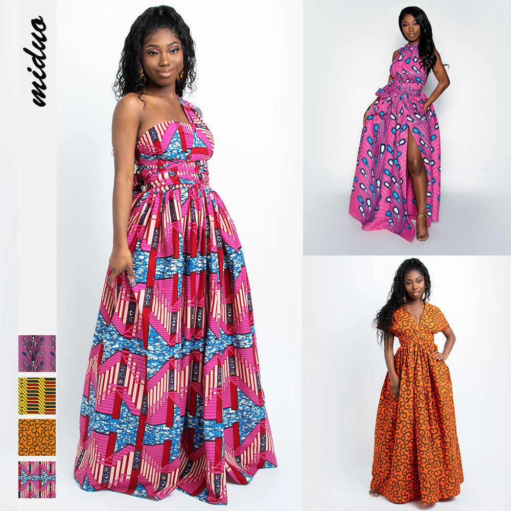 elegante afrikanischen kleid für frauen afrikanische kleidung Ärmel split  maxi kleider dashiki europäischen kleidung abend party yb1057