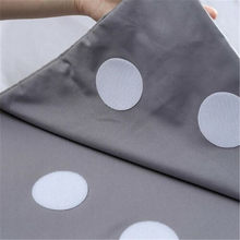 Karpet Non-Slip Magic Sticker Mini Hitam Karpet Putih Lengket Bantalan Karpet Jangkar Karpet Non-Slip Rumah Karpet alat Hook dan Loop(China)