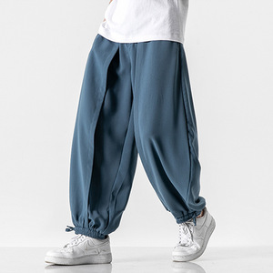 Fashion Large Size Streetwear Mens Hip Hop Baggy Harem Yoga Pants Festival Hippie Harem Pants Men Desert Wide Leg Pants