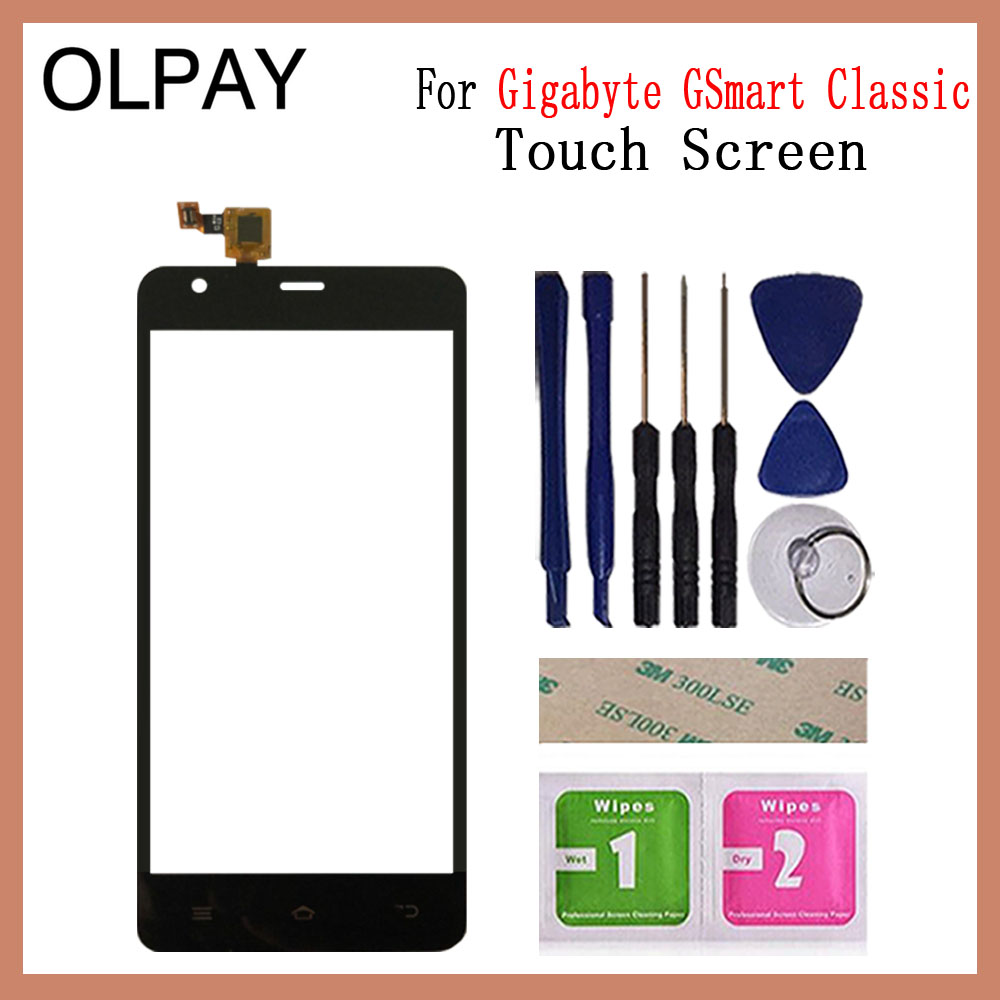 Mobile Phone TouchScreen For Gigabyte GSmart Classic 5.0'' Inch Touch Screen Glass Digitizer Panel Lens Sensor Glass Repair