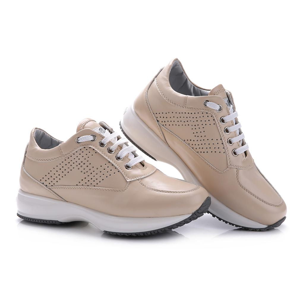 Hogan Fashion Women Sneakers Casual Shoes Walking Vulcanized Shoes Outdoor Breathable Trainers Sports Jogging Footwear Brand