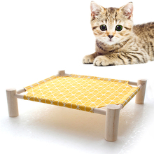 Detachable-Mats Pet-House Raised Cat-Bed Pet-Elevated Outdoor Portable Kitten Fashion