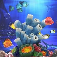 Aquariums Coral Oxygen Pump Fish Tank Ornament Aquarium Air Bubble Volcano Shape Decor Landscaping Stone Bubbler