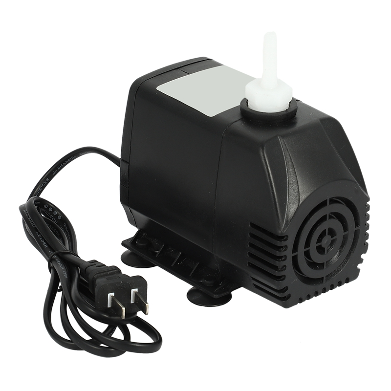Submersible Pump 75W, 3.2M, 3200L/H, 220V Engraving Machine Water Pump, Used for CNC Spindle Motor Accessories US Plug