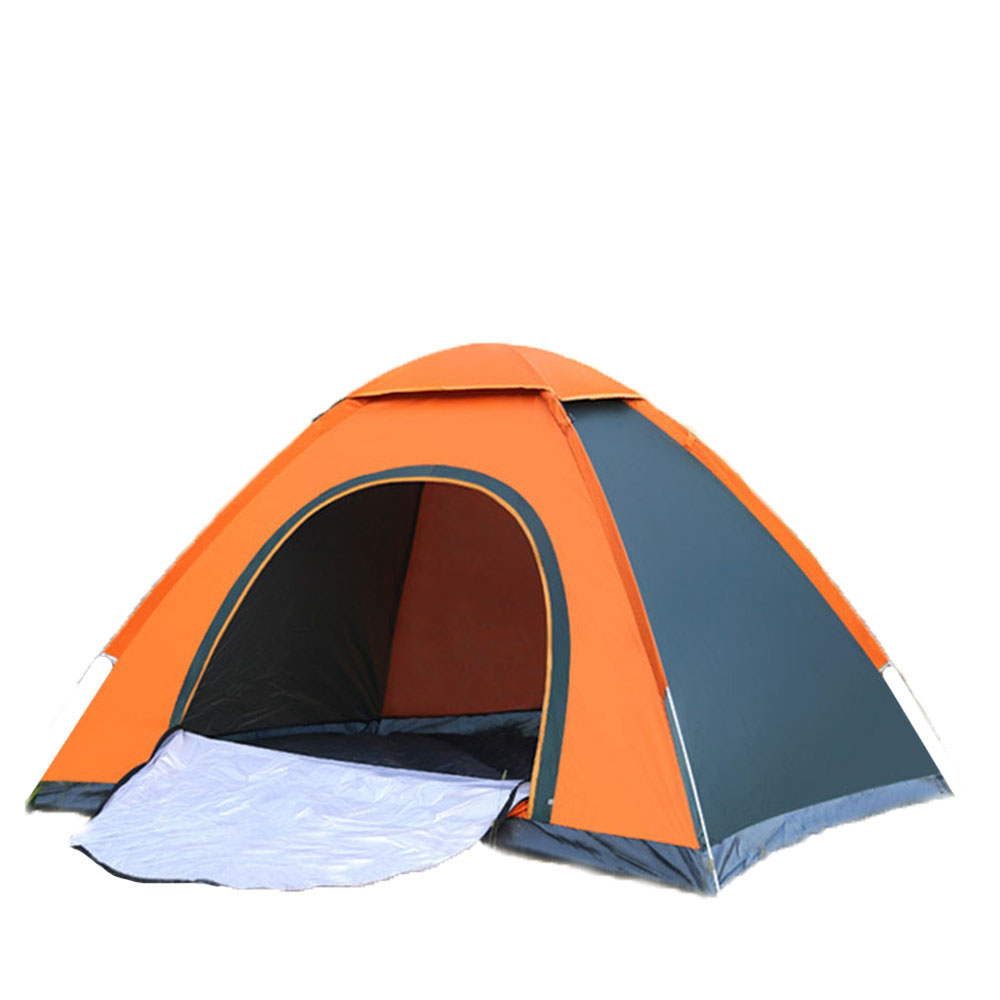 Automatic Pop Up Outdoor Family Camping Tent 3-4 Person Easy Open Camp Tents Ultralight Instant Shade