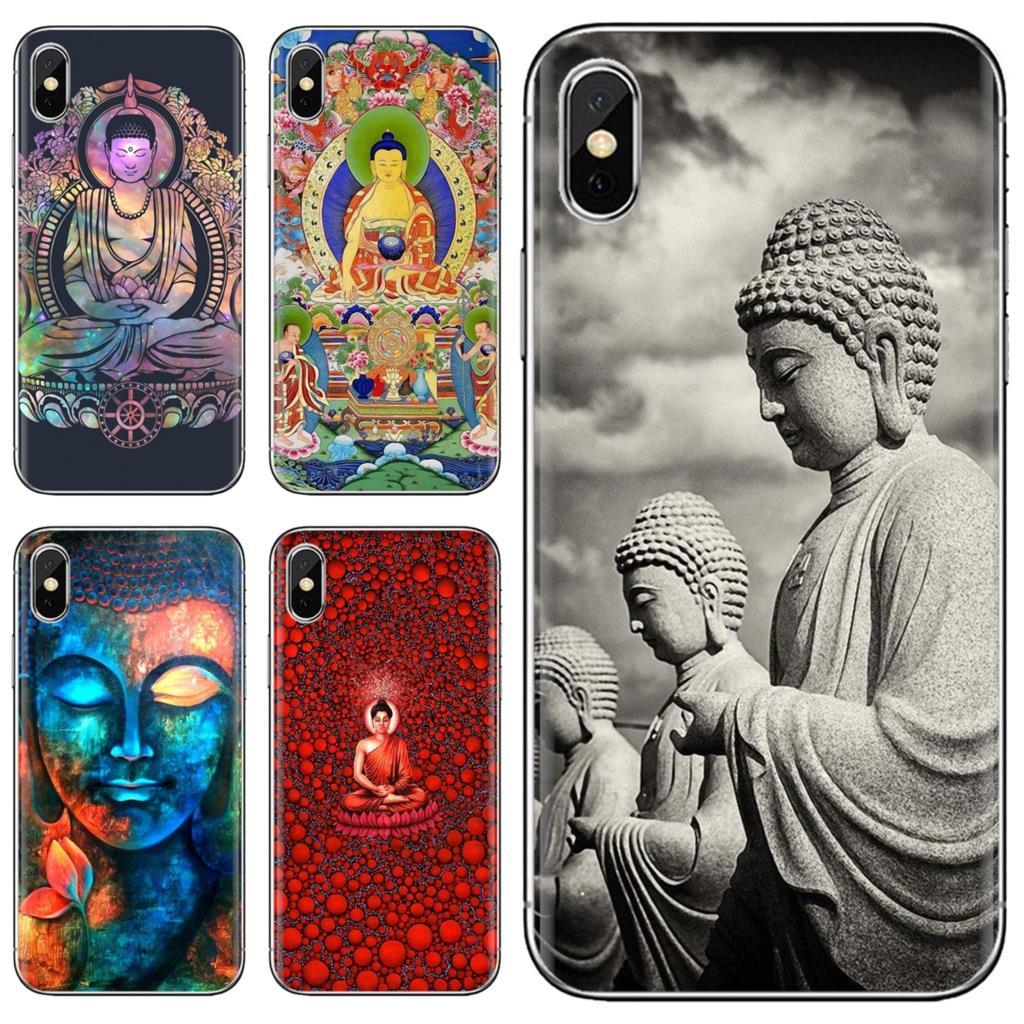 Buy Silicone Phone Case retro Galactic Gautama Buddha For Huawei G7 G8 P7 P8 P9 P10 P20 P30 Lite Mini Pro P Smart 2017 2018 2019(China)