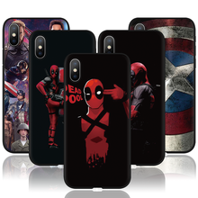 Avengers Endgame Marvel Iron Man Case For iPhone 6 6S 7 8 Plus New SE 2020 Soft Fundas For iPhone 11 Pro XS Max X XR Matte Cover