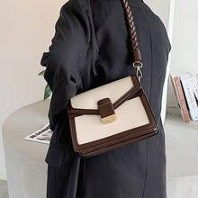 Винтажные маленькие сумки через плечо из искусственной кожи