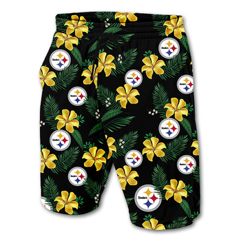 Lue's House Cool Summer Village Mens Football Shorts A 1