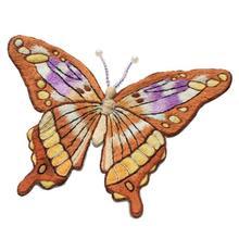 Вышивка бабочки Европейский Набор для вышивания простая трехмерная вышивка лента Набор для вышивания рукоделие