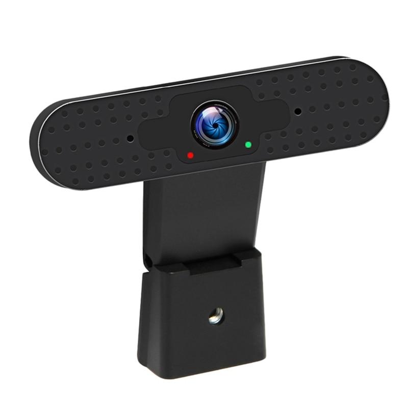UC08-2M 1080P HD Webcam, USB2.0 Autofocus Computer Laptop Camera, Webcam With Noise Reduction Microphone