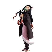 Judai 22cm original banpresto glitter & glamour demon slayer kimetsu não yaiba kamado nezuko pvc figura de ação modelo boneca brinquedos