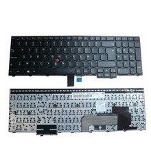 FR teclado Novo notebook para LENOVO e560 e550 e550c e555c e555 e560p e565 sn20f22485 00hn085 00hn085 nsk-z50st Francês Azerty