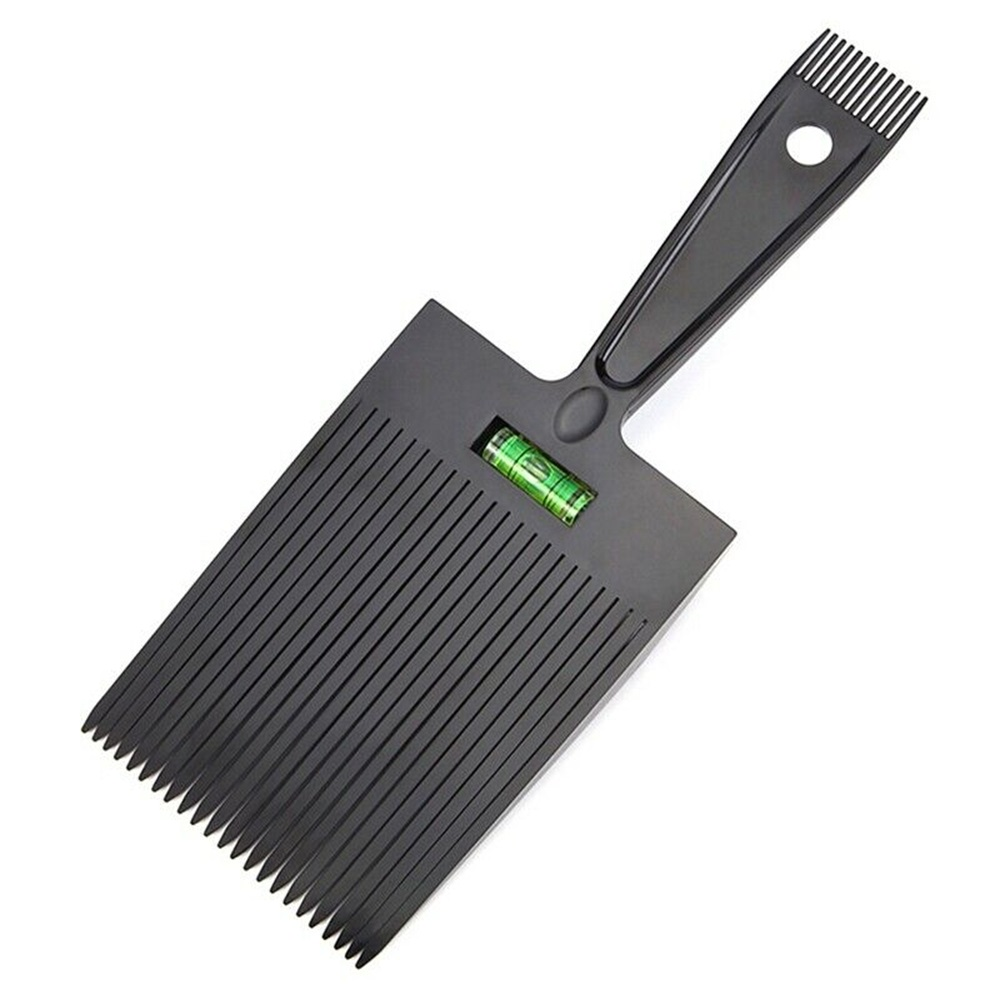 Flattop Comb Men Hairdressing Brush Barber Hairstyle Accessory Anti-slide Handle Plastic Clipper Comb Barber Styling Dyeing