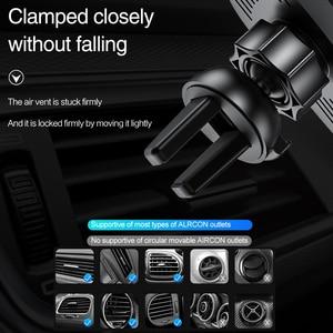 Image 4 - FDGAO 15W rapide Qi chargeur de voiture sans fil pour iPhone 11 Pro XS XR X 8 Samsung S10 S9 Note 10 Charge rapide support pour téléphone de voiture