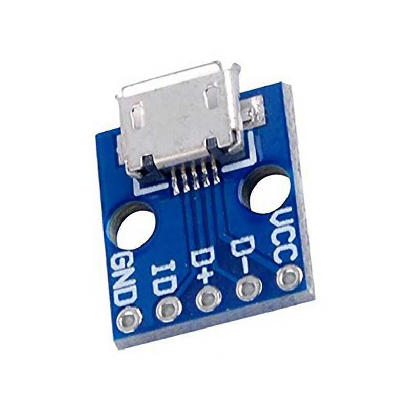 5Pcs Cjmcu 5V Micro-Usb Board Interface Schakelaar Adapter Breakout Module