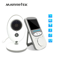 2.4 inch Wireless Video Baby Monitor With Camera mini Camera intercom Night Vision Temperature Monitoring babysitter nanny VB605