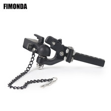 FIMONDA In Metallo Regolabile Rimorchio Hitch Mount per 1/10 RC Crawler Traxxas TRX4 Assiale SCX10 90046 Redcat GEN 8 Scout II CC01 TF2(China)
