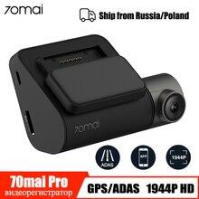 70mai Dash Cam Pro 1944P GPS ADAS Auto DVR Camera Wifi Spraakbesturing Nachtzicht 24H Parking Monitor auto Camera Video Recorder
