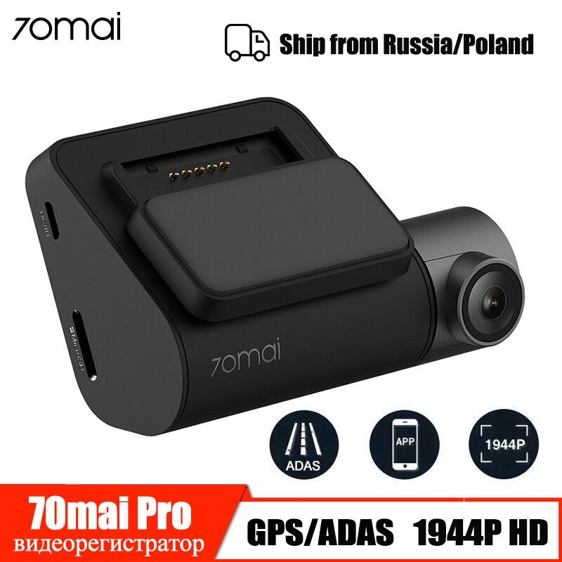 ADAS 70mai Cam Traço Pro 1944P GPS Do Carro DVR Câmera Wi-fi Visão Noturna Controle de Voz 24H Monitor de Estacionamento câmera do carro Gravador de Vídeo