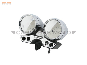 Image 3 - Chrome Motorcycle Speedometer Cover Moto Speed Gauge Shell Case for Yamaha XJR1200 XJR 1200 1993 1998
