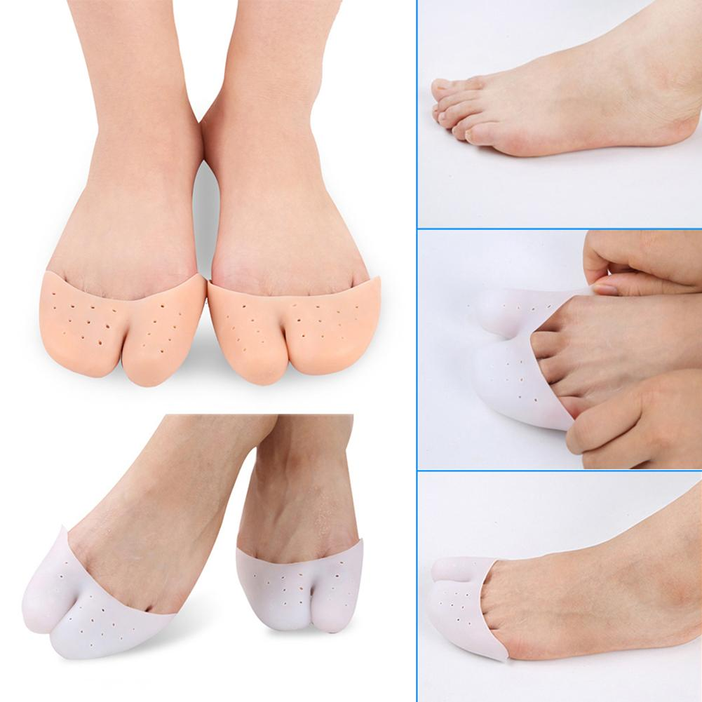 Silicone Gel Ballet Pointe Dance Shoe Pads Cushion Toe Cap Cover Protector Women
