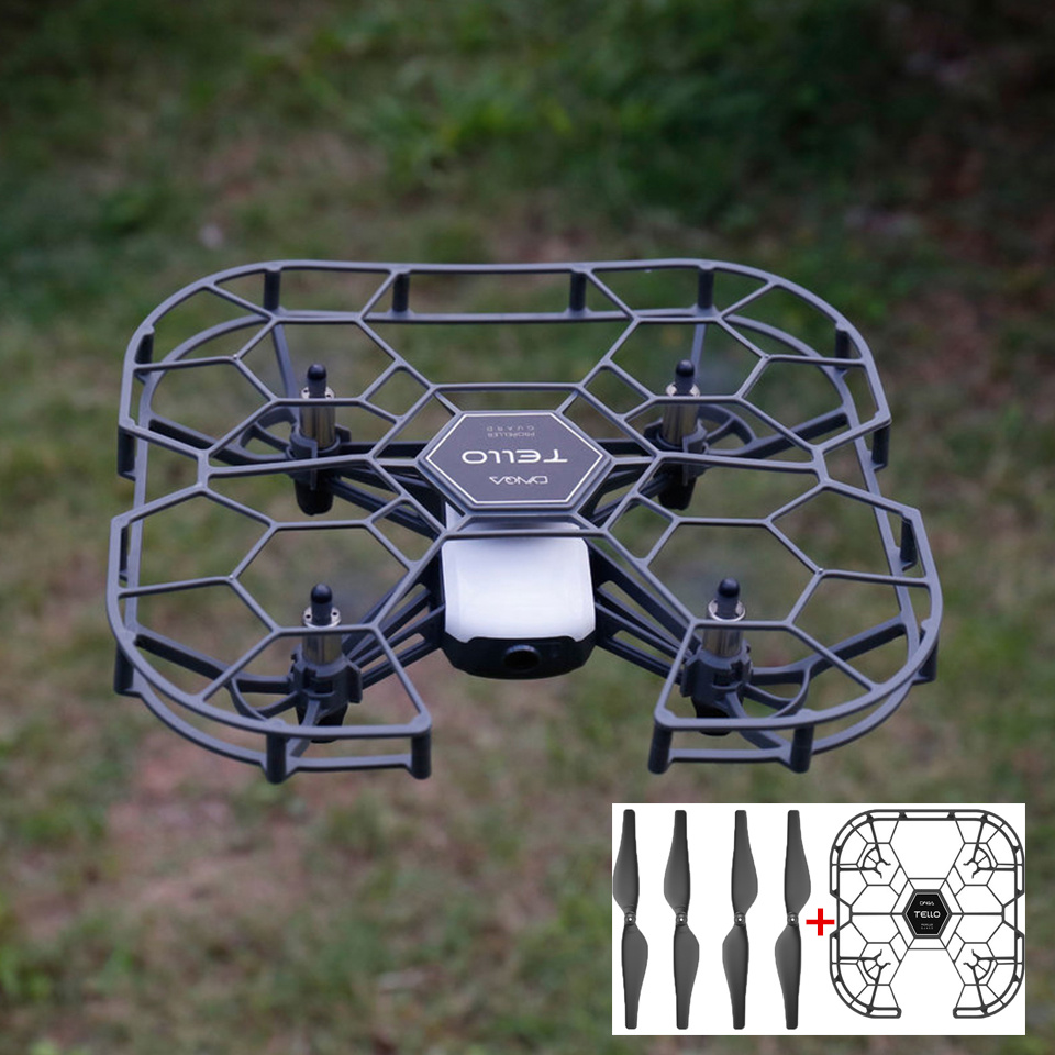 Cynova Tello Propeller Guard Propellers Covers Protector+Original Tello Quick-Release Propeller Specially Designed For DJI Tello