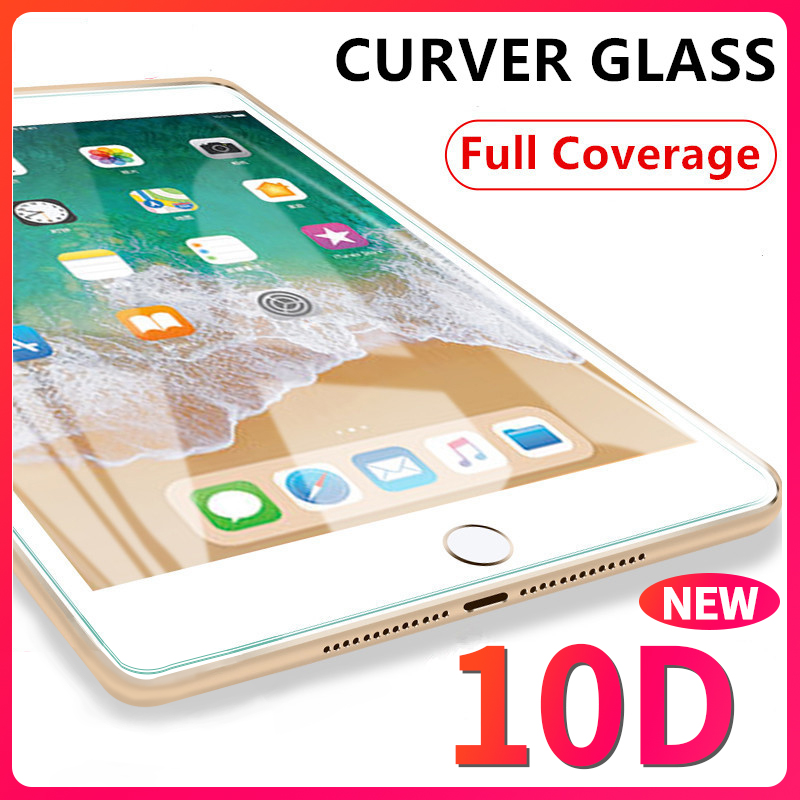 10D Curved Edge Screen Protector For IPad Pro 11 2020 10.5 Tempered Glass 10.2 2017 2018 9.7 Air 1 2 3 Mini 4 5 Protective Film