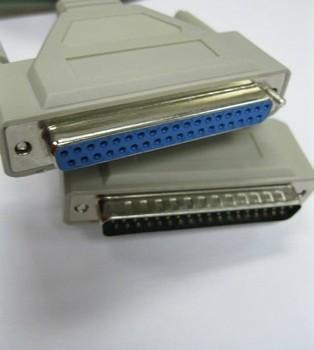 2,8 M DB37 37Pin папа к женскому M/F последовательный порт расширение кабеля передачи данных Шнур принтера