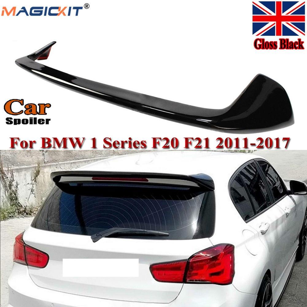 MagicKit для BMW F20 F21 1 серия блеск черный стиль переменного тока задняя крыша багажник губа спойлер Великобритания