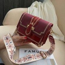 Fashion Women Shoulder Bag Female Zipper Decorate Flap Russian style Crossbody Messenger Bags for Ladies Embroidery Edge Handbag недорго, оригинальная цена