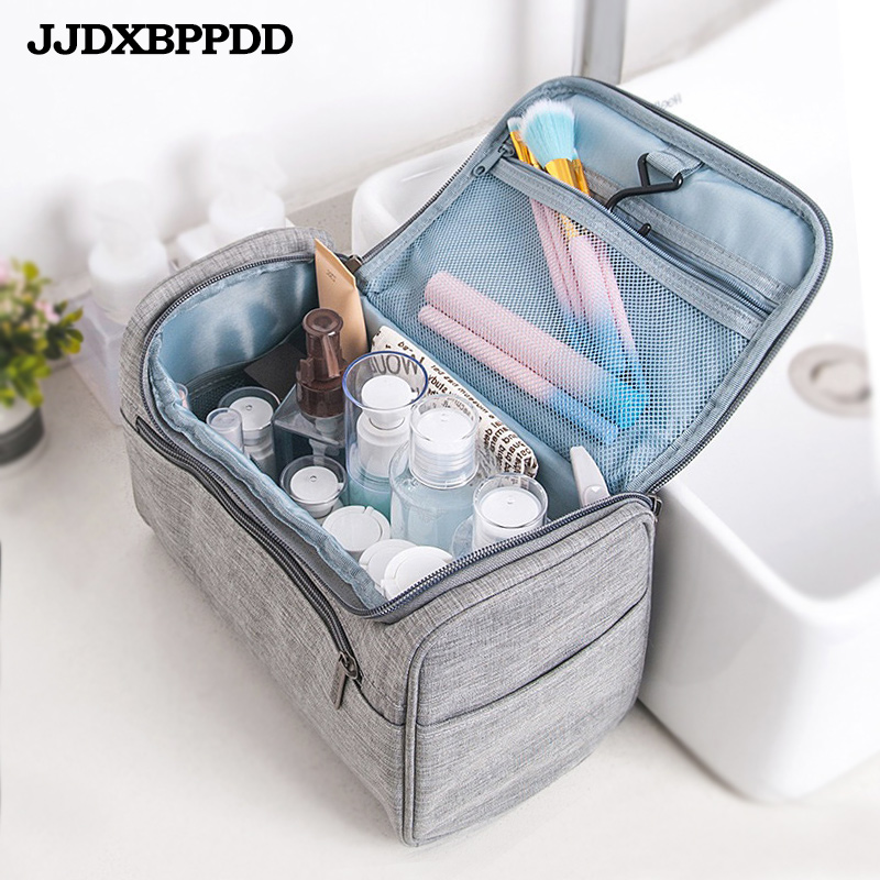 Toiletry Bag Makeup Bag Cheap Women Bags Men Large Waterproof Nylon Travel Cosmetic Bag Organizer Case Necessaries Make Up Wash
