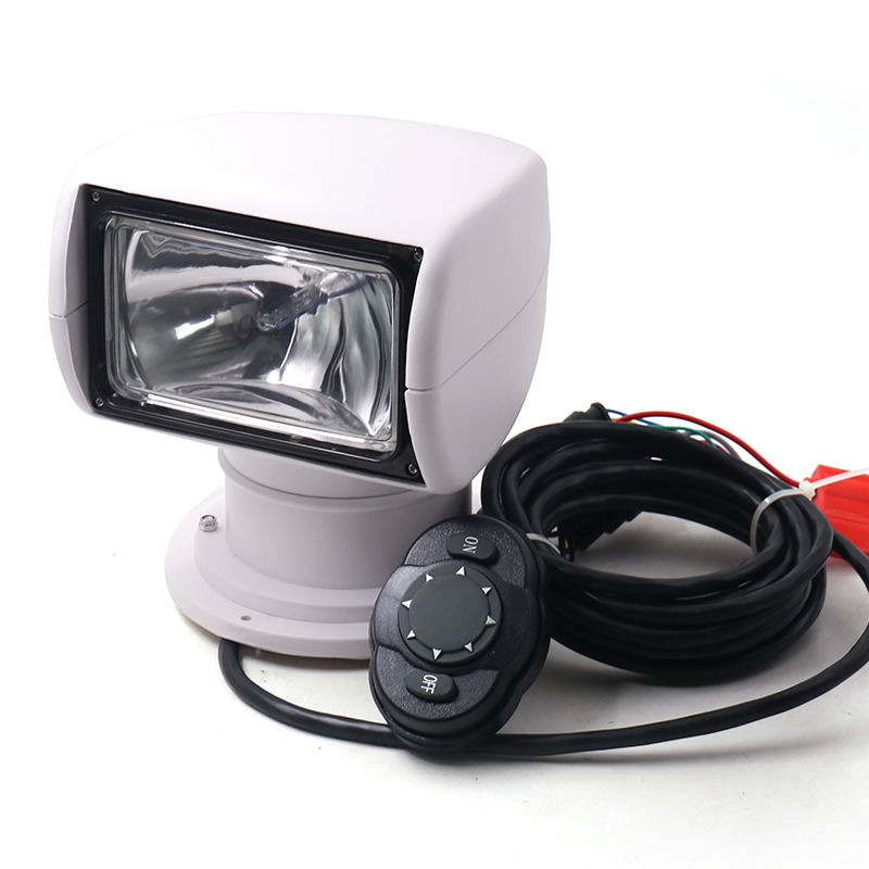 Remote Control Boat Spotlight Truck Car Marine Remote Searchlight 12V 100W Bulb