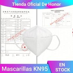 10/20/30 pces kn95 máscaras respiráveis da boca da filtragem da proteção da máscara protetora