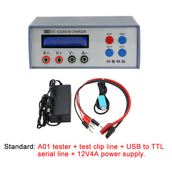 EBC-A01 Battery Capacity Tester Electronic Load CR Button Battery AAA Small Capacity Lithium Battery