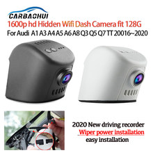 Nova fácil instalação do carro dvr wifi traço câmera gravador de vídeo para audi a1 a3 a4 a5 a6l a7 a8 q2 q3 q5 q7 tt 2016 ~ 2020
