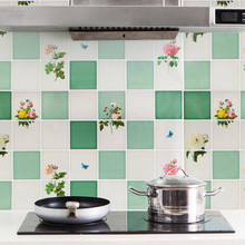 1PC Flower Kitchen Oilproof Removable Wall Stickers Art Decor Home Decal wall stickers for kids rooms crossbow for hunting #R10 недорого