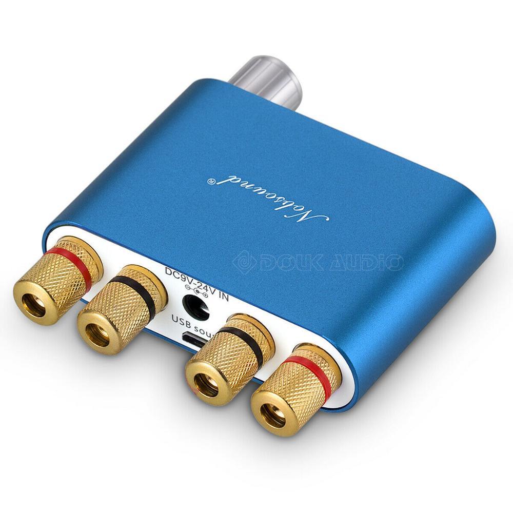 2020 Nobsound HiFi TPA3116 Mini Bluetooth 5,0 50 Вт * 2 Цифровой усилитель стерео домашний автомобильный аудио усилитель мощности аудио приемник