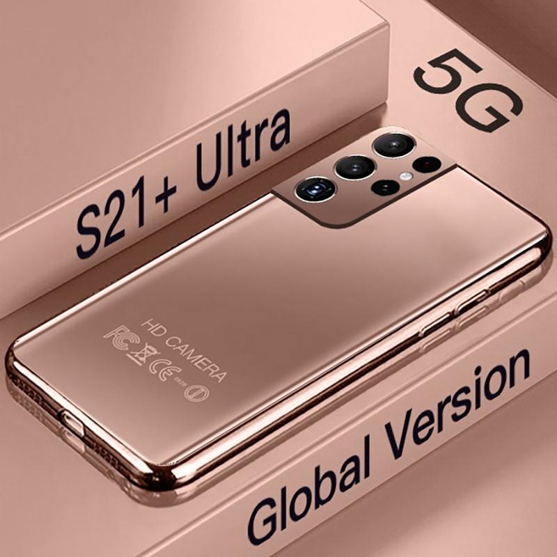 New Version Galay S21+ Ultra 5G 7.3 Inch Smartphone 6800mAh 24MP+48MP 12GB+512GB Unlock Mobile Phones Global Version