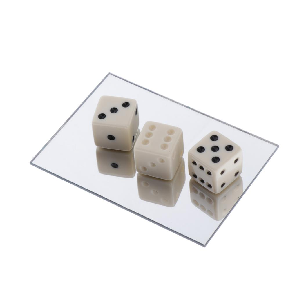 Kids  Tricks Party Favors Acrylic Magician Accessories Toy Mirror Dices