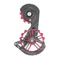 FOURIERS 12T 16T Ceramic bearing Bicycle Rear Derailleur guides for DURA ACE DA9100 ultegra R8000 Rear Derailleurs Carbon guides