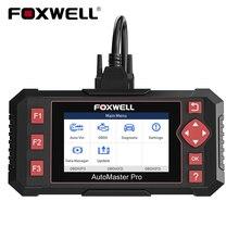 FOXWELL NT604 Elite OBD2 diagnose Scanner Motor ABS SRS Transmission System Drucken Daten Lesen Code Auto Diagnose Kostenloser Versand